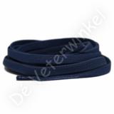 Plat ELASTIEK 7mm Donkerblauw SPECIALE LENGTE_