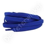 Plat ELASTIEK 7mm Koningsblauw SPECIALE LENGTE_