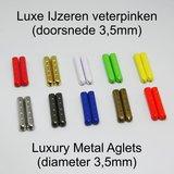 Trendveter 3mm WAX Donkerbeige SPECIALE LENGTE_