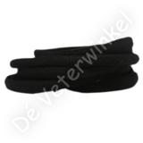 Ovaal sportveter 6mm Zwart SPECIALE LENGTE_