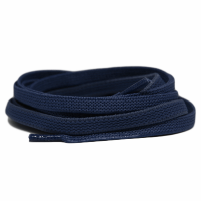 Plat ELASTIEK 7mm Donkerblauw SPECIALE LENGTE