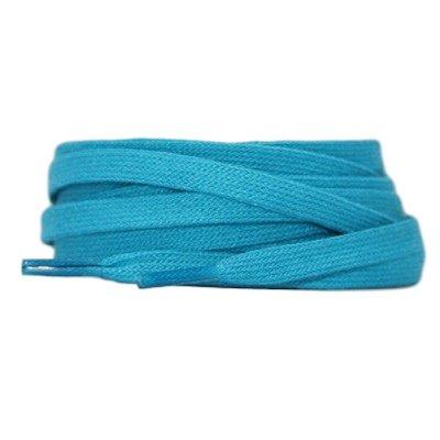 Plat katoen 6mm Turquoise SPECIALE LENGTE
