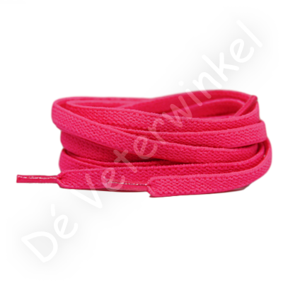 Flat ELASTIC 7mm Neon Pink SPECIAL LENGTH
