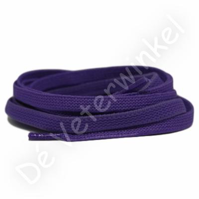 Flat ELASTIC 7mm Dark Purple SPECIAL LENGTH