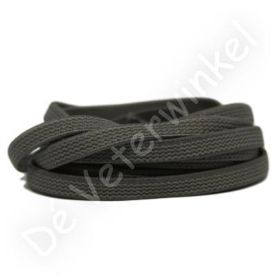 Flat ELASTIC 7mm Grey SPECIAL LENGTH