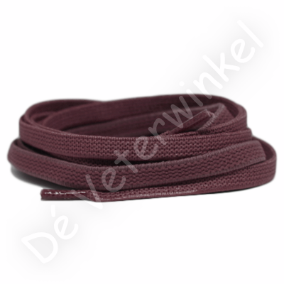 Flat ELASTIC 7mm Chocolate Brown SPECIAL LENGTH