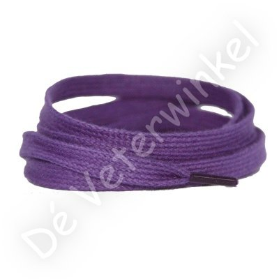 Flat 8mm cotton Purple SPECIAL LENGTH
