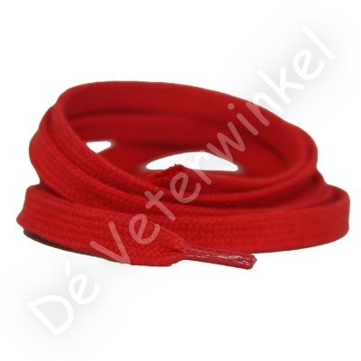Flat 8mm cotton Red SPECIAL LENGTH