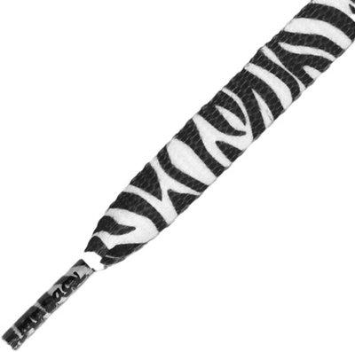 Mr.Lacy Printies Black/White Zebra 130cm