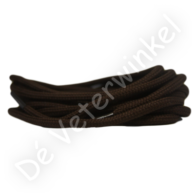 Rond 5mm polyester Bruin SPECIALE LENGTE