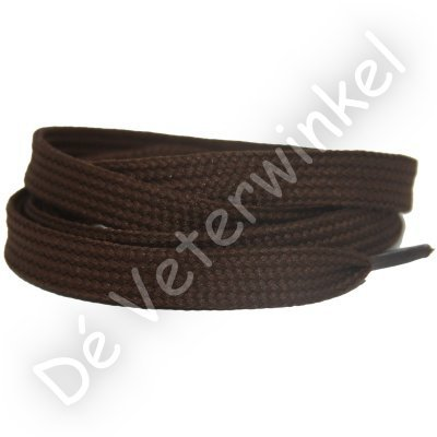 Plat 10mm polyester Bruin SPECIALE LENGTE