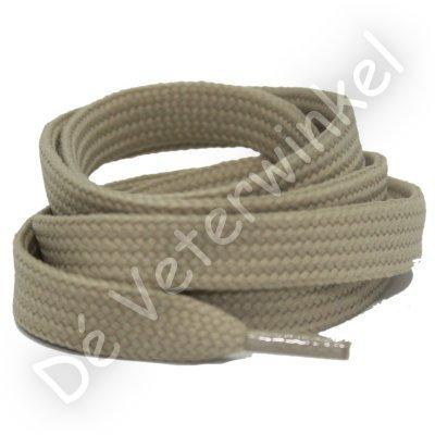 Plat 10mm polyester Beige SPECIALE LENGTE