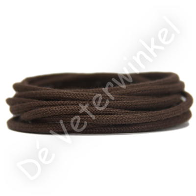 Koordveter 3mm katoen Chocoladebruin SPECIALE LENGTE