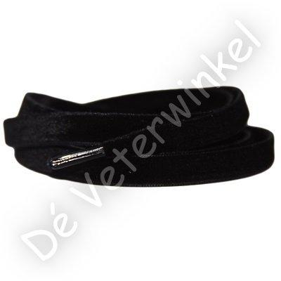Fluweel 10mm Zwart SPECIALE LENGTE