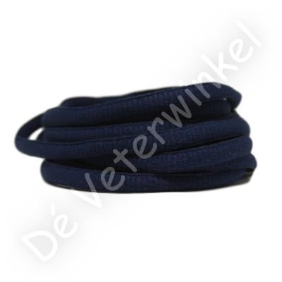 Ovaal sportveter 6mm Donkerblauw SPECIALE LENGTE