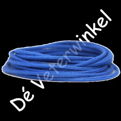Koordveter 3mm katoen Kobaltblauw SPECIALE LENGTE