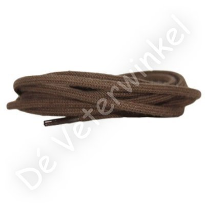 Rond 5mm katoen Taupe SPECIALE LENGTE