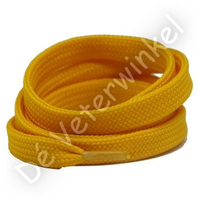 *Plat 10mm polyester Donkergeel SPECIALE LENGTE