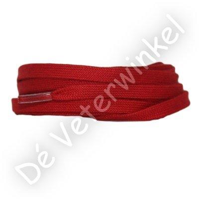 Plat katoen 6mm Rood SPECIALE LENGTE