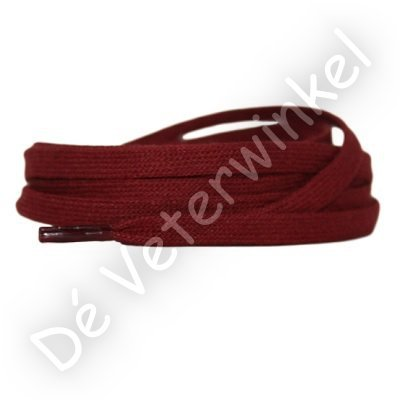 Flat cotton 6mm Dark Red SPECIAL LENGTH