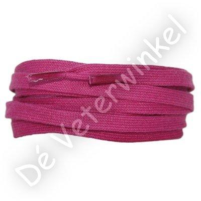 Plat katoen 6mm Roze SPECIALE LENGTE
