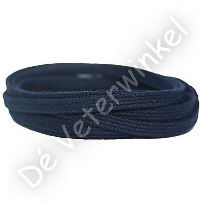 Plat katoen 6mm Donkerblauw SPECIALE LENGTE
