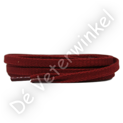 Flat 6mm LIGHTWAXED Dark Red SPECIAL LENGTH