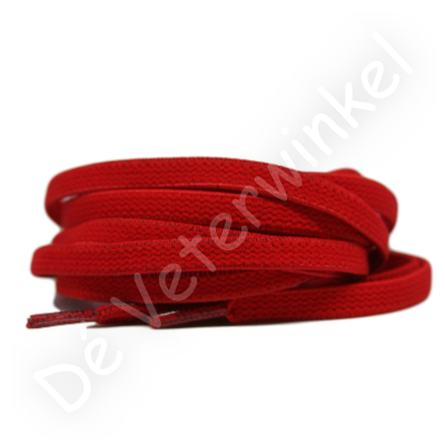 Plat ELASTIEK 7mm Rood SPECIALE LENGTE