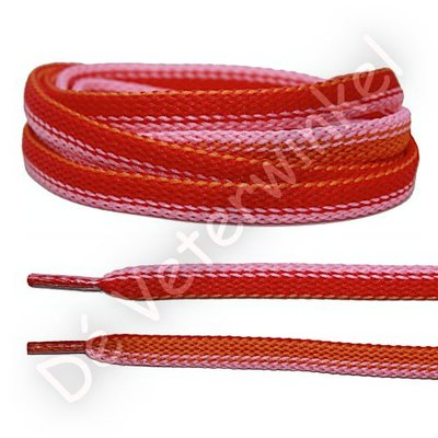 Fantasie Rood-Roze-Oranje SPECIALE LENGTE