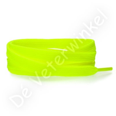 Flat 8mm polyester Neon Yellow SPECIAL LENGTH