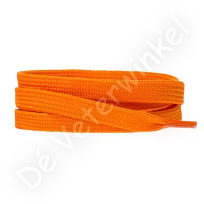 Plat 8mm polyester Oranje SPECIALE LENGTE