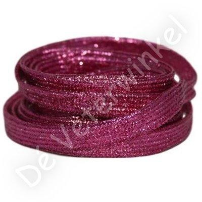 Plat shiny 10mm Roze SPECIALE LENGTE