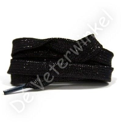 Plat shiny 10mm Zwart SPECIALE LENGTE