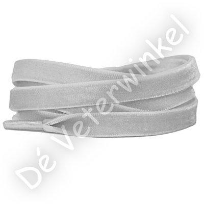 Fluweel 10mm Zilver SPECIALE LENGTE