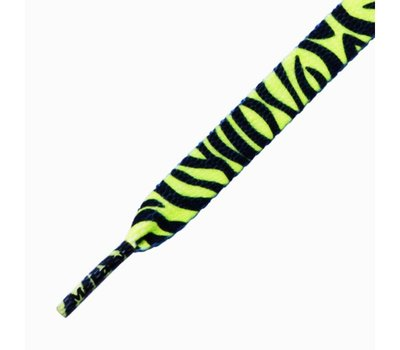 Mr.Lacy Printies Lime Yellow Zebra 130cm
