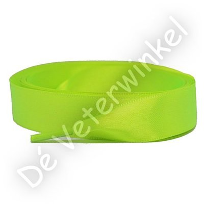 Satin 15mm NeonYellow SPECIAL LENGTH