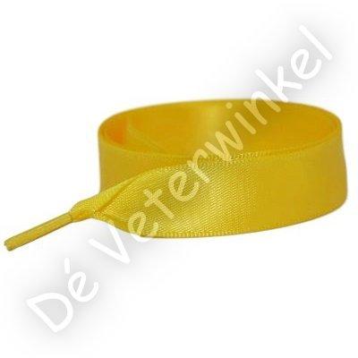 Satijn 15mm Geel SPECIALE LENGTE