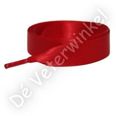*Satijn 25mm Rood SPECIALE LENGTE