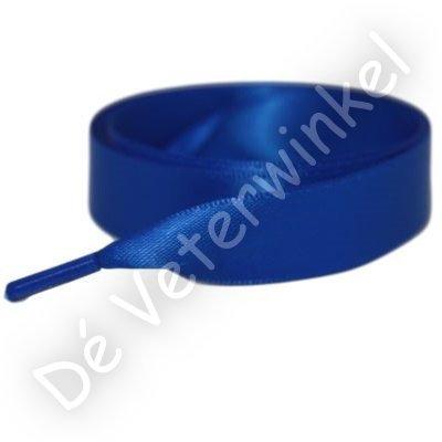 *Satijn 25mm Koningsblauw SPECIALE LENGTE