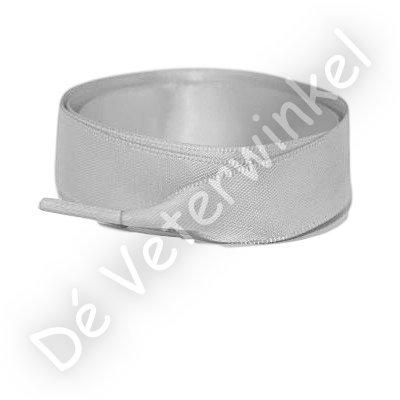 *Satijn 25mm Zilver SPECIALE LENGTE