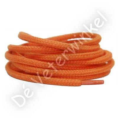 Rond 5mm katoen Oranje SPECIALE LENGTE