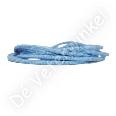 Koordveter 3mm katoen Lichtblauw SPECIALE LENGTE