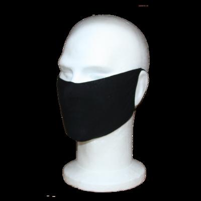 Wasbaar mondkapje Zwart