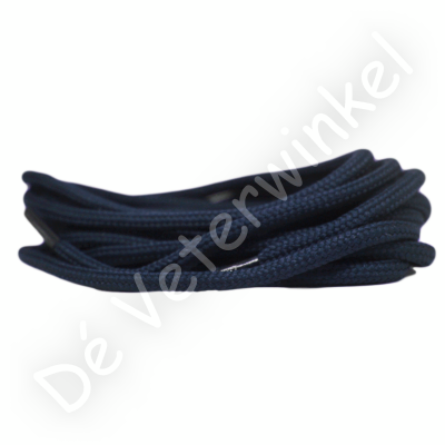 Rond 5mm polyester Donkerblauw SPECIALE LENGTE