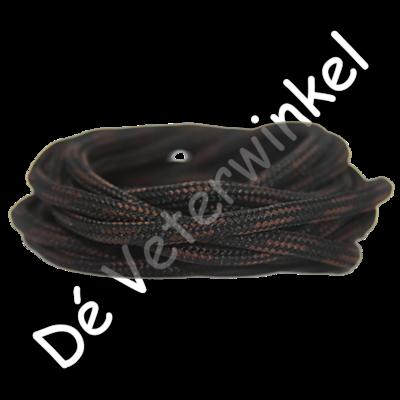 Outdoorveter 5mm Bruin/Zwart SPECIALE LENGTE