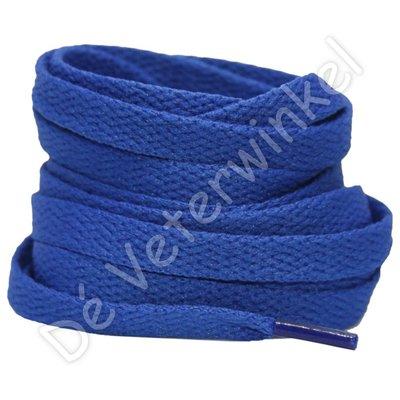 Nike veters plat 8mm Koningsblauw SPECIALE LENGTE