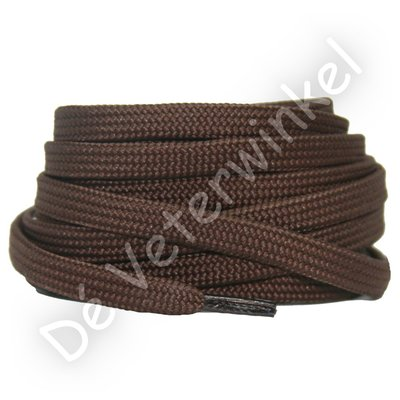 Plat 8mm polyester Bruin SPECIALE LENGTE