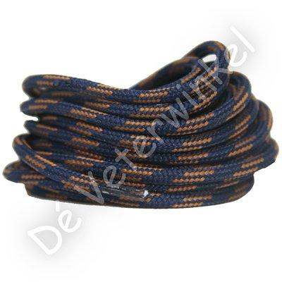 Outdoorveter 5mm Donkerblauw/Bruin SPECIALE LENGTE