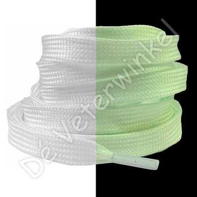 Glow in the dark 8mm Wit SPECIALE LENGTE