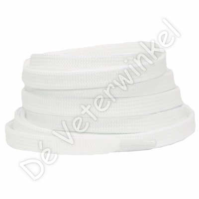 Plat 8mm polyester Natural-White SPECIALE LENGTE